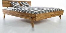 Holzwerk Massivholzbett Milano Doppelbett Bett