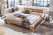 Holzwerk Massivholzbett Palermo Doppelbett Bett