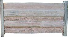 Holzzaun kaufen in *Premiumqualität* - Gartenzaun Holz - Sichtschutz Garten - Bretterzaun Elemente (Zelos)