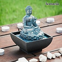 Homania Dekorativer Buddha Brunnen