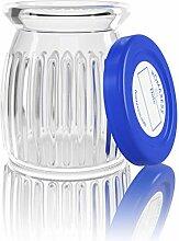 Homaxess | 6 Joghurtgläser aus Glas | kompatibel