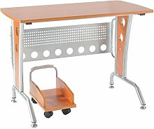 Homcom® Computertisch Schreibtisch Bürotisch PC Tisch Arbeitstisch