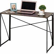 HOMCOM Computertisch, Schreibtisch, PC Tisch,
