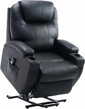 HOMCOM® Fernsehsessel Massagesessel Relaxsessel