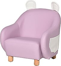 HOMCOM Kindersessel Kindersofa Kindercouch Stuhl