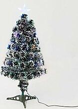 HOMCOM Künstlicher Weihnachtsbaum mit Buntem