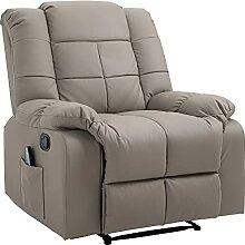 HOMCOM Massagesessel Fernsehsessel Relaxsessel mit