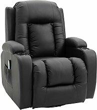 HOMCOM Massagesessel Fernsehsessel Relaxsessel TV