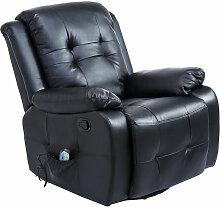 HOMCOM® Massagesessel mit Wärme- und