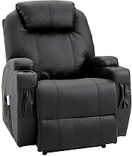 HOMCOM Massagesessel Relaxsessel Fernsehsessel