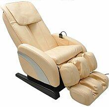 Homcom Multifunktionaler Massagesessel, mit Wärmefunktion, Neigefunktion Full Body Relax Sessel,