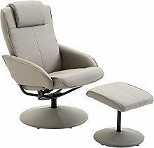 HOMCOM Relaxsessel Sessel Fernsehsessel Armsessel
