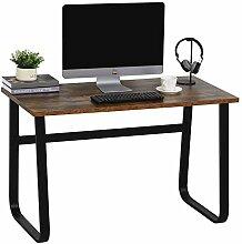 HOMCOM Schreibtisch, Computertisch, PC Tisch,