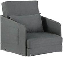 HOMCOM Sessel Klappbarer Schlafsessel mit 2