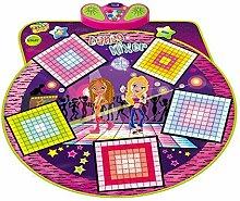 HOMCOM Spielmatte für Tanzmusik-Mixer,