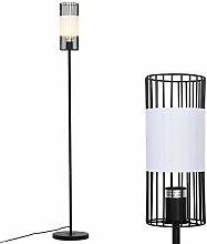 HOMCOM Stehlampe für Wohnzimmer, Standleuchte,