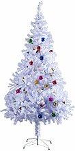 HOMCOM Weihnachtsbaum künstlicher Christbaum