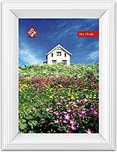 HOME 6 Set vertikalen Kunststoff-Fotohalter 10x15