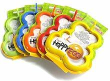 HOME 9816900 Set 3 Ausstechformen Fritt Happyegg