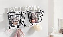 Home affaire Badregal Bathroom 49x11x28 cm weiß