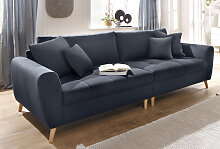 Home affaire Big-Sofa Jordsand, mit feiner