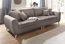 Home affaire Big-Sofa Jordsand, mit feiner