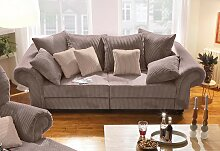 Home affaire Big-Sofa King Henry Samtstoff, 242