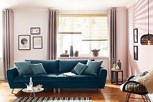 Home affaire Big-Sofa Penelope, feine Steppung,