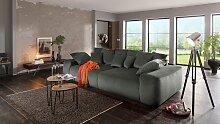 Home affaire Big-Sofa Sundance, mit vielen Kissen,