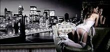 Home affaire Bild Evening in New York, mit Rahmen