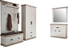 Home affaire Garderoben-Set Florenz, (5-St),