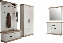 Home affaire Garderoben-Set Florenz, (5 St.),