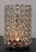 Home affaire Kerzenständer Kristall 10x10x15 cm