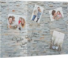 Home affaire Magnettafel Stone Wall, Memoboard,