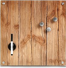 Home affaire Magnettafel Wood, Memoboard, aus