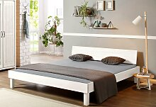 Home affaire Massivholzbett Modia 180x200 cm weiß