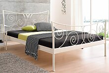 Home affaire Metallbett Princess 90x200 cm, ohne