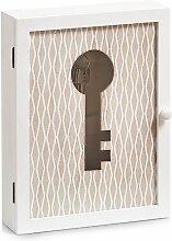Home affaire Schlüsselkasten 22x5x30 cm weiß