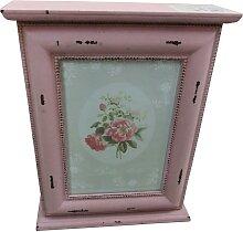 Home affaire Schlüsselkasten 22x8x29 cm rosa