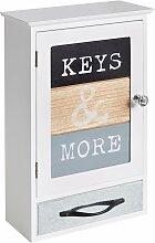 Home affaire Schlüsselkasten 23,5x12x35 cm weiß