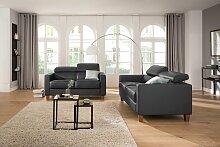 Home affaire Sitzgruppe Luzern NaturLEDER® /