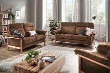 Home affaire Sofa Passau, 3-Sitzer. 2-Sitzer und