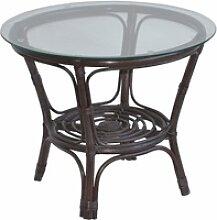 Home affaire Tisch, gemütliche Rattanmöbel ideal