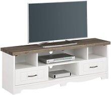 Home affaire TV-Board weiß