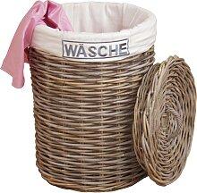 Home affaire Wäschekorb 46x65 cm grau
