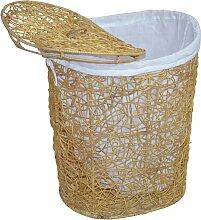 Home affaire Wäschekorb 49x40x62 cm beige