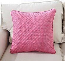 Home american dorf kissenbezug ohne kern,Bunte kissen,Auto sofa nachttisch kissen rücken pad-L 45x45cm(18x18inch)VersionA