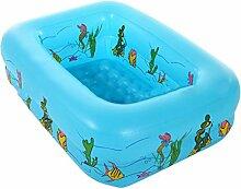 Home aufblasbare Pools aufblasbar Badewanne Blau