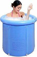 Home Aufblasbare Schwimmbäder Aufblasbare Badewanne verdicken Erwachsene Badewanne Faltbare Kind baden Badewanne Kunststoff Badewanne Geschenk Four Seasons blau Moderne einfach WXP-Schwimmbecken ( Farbe : #1 )