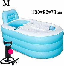 Home Aufblasbare Schwimmbäder Aufblasbare Badewanne verdicken Erwachsene Badewanne Faltbare Kind baden Badewanne Kunststoff Badewanne Geschenk Four Seasons rosa blau kreativ niedlich WXP-Schwimmbecken ( Farbe : #5 )